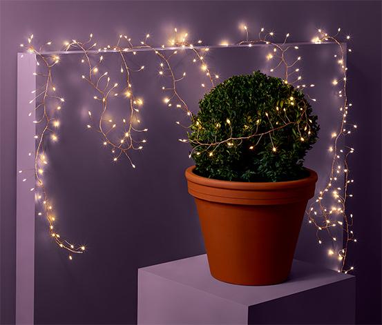 Dekoracyjny, outdoorowy łańcuch świetlny LED