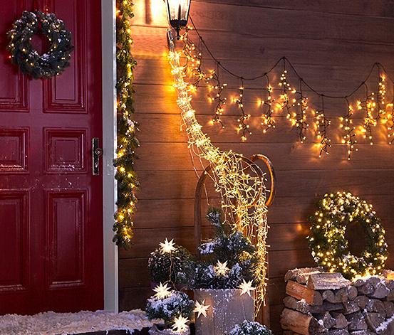 LED-Outdoor-Lichterkettenschweif