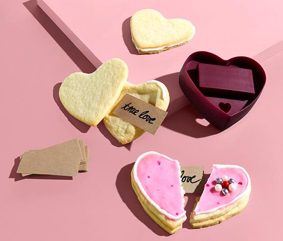 Foremka do ciasteczekw kształcie serca