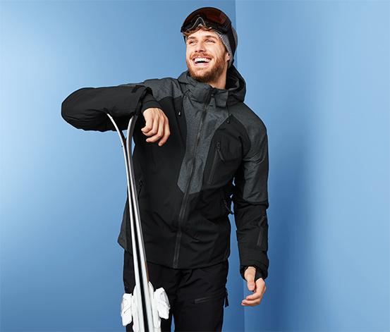 Profesjonalna męska kurtka narciarska