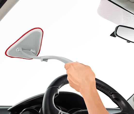 Stierka na čelné sklo auta