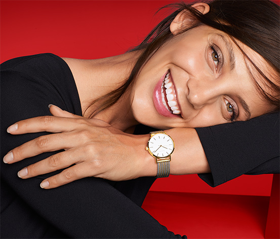 Milanez Kordonlu Kadın Saati
