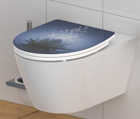 SCHÜTTE-Duroplast-HG-WC-Sitz »Water Lily«