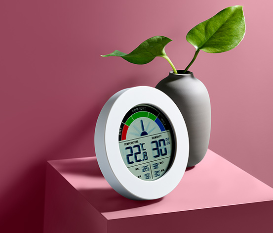 Digitales Hygro- und Thermometer