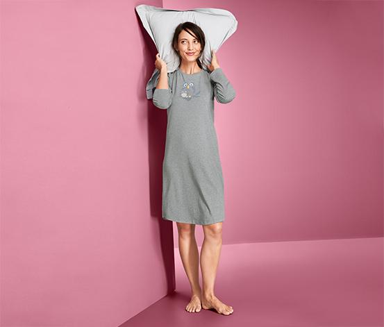 Koszula nocna z bawełną ekologiczną