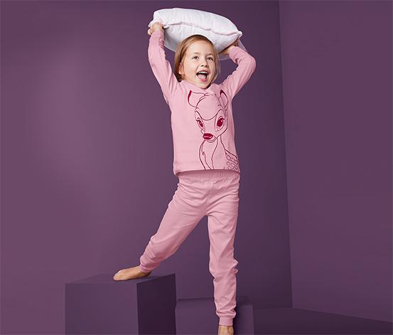 Piżama dziewczęca »Disney« z bawełny ekologicznej