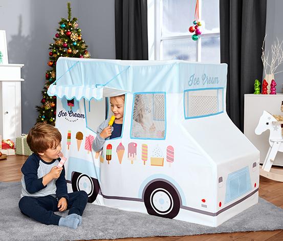 Hrací stan »Zmrzlinárske auto«
