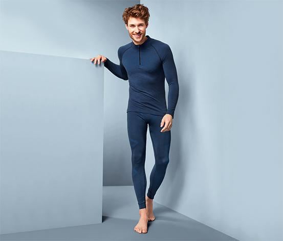 Męska bluza funkcyjna z wełną merino