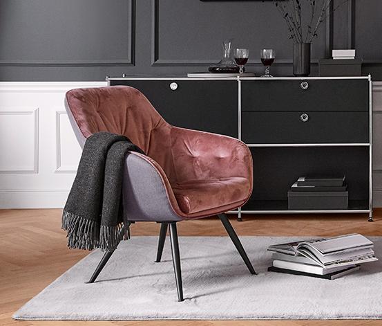 Bársony fotel
