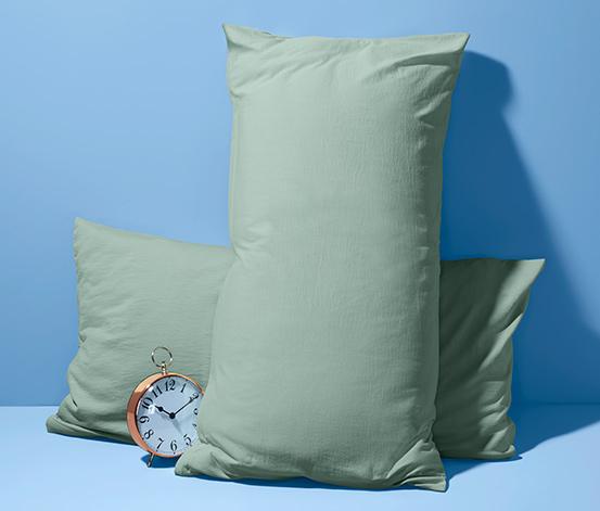 Poszewki na poduszki z dżerseju, 2 sztuki, każda 80 x 40 cm