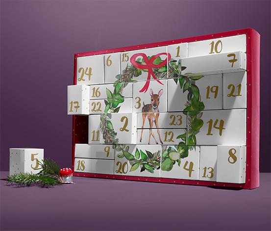 Adventskalender-Puzzle-Box zum Selbstbefüllen