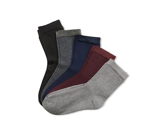Skarpety z bawełną ekologiczną, 5 par