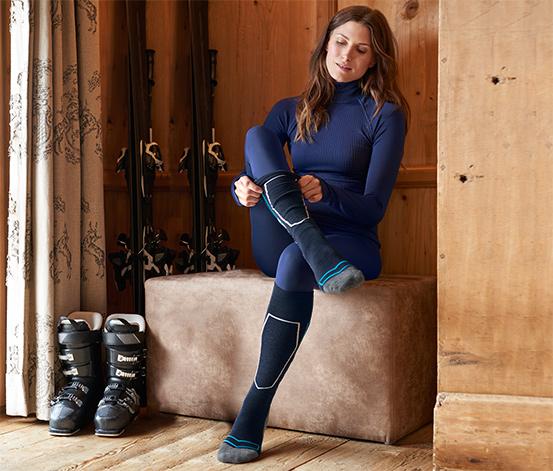 Skarpety narciarskie z wełną