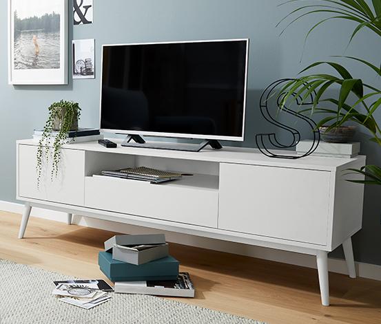 TV-Lowboard, weiß