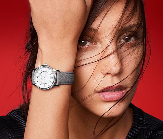 Deri Kordonlu Kadın Saati