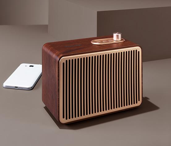 "Reproduktor Philips® ""TAVS500"" s Bluetooth®, v retro stylu"