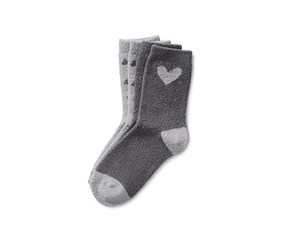 Gri Yumuşak Çorap