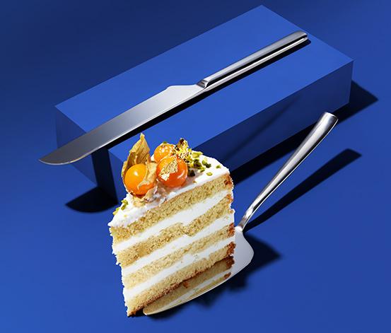 Lopatka a nôž na tortu – 2-dielna súprava