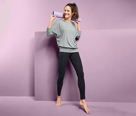 3/4-Sport- und Yogashirt
