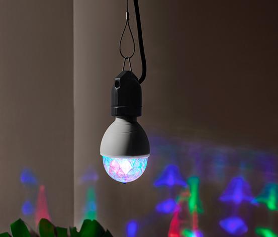 Disko světelný zdroj s LED