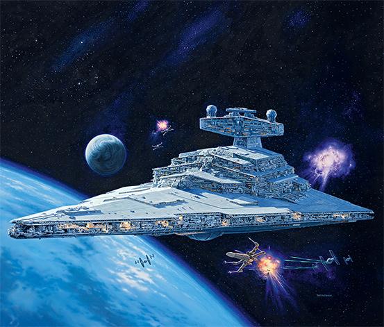Zestaw do budowy modelu z filmu Star Wars