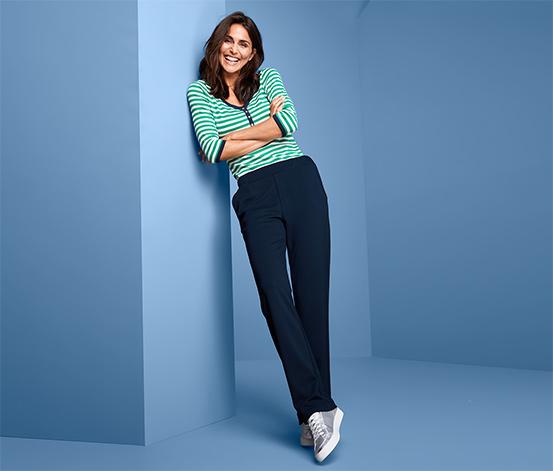 Spodnie typu jogger pants z szeroką nogawką
