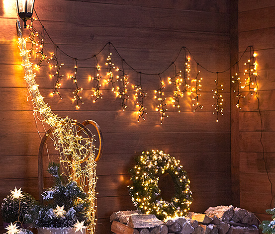 Outdoorowa girlanda LED z przyssawkami