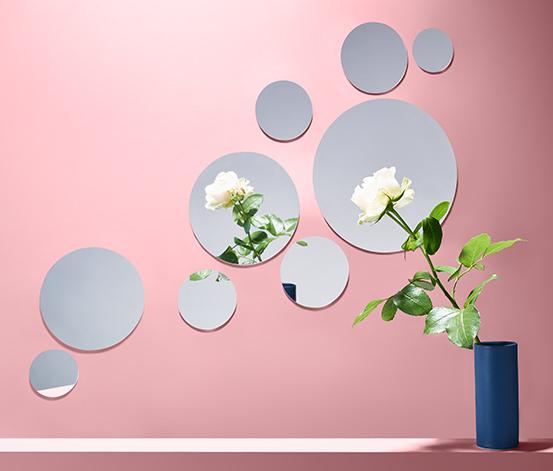Yapışkanlı Bant Ayna Seti,Yuvarlak