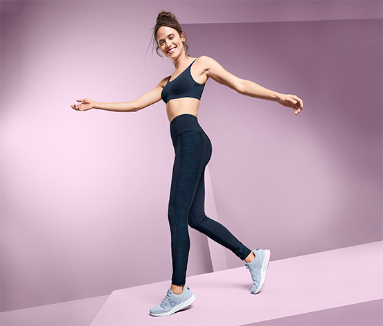 Modelujące damskie legginsy sportowe