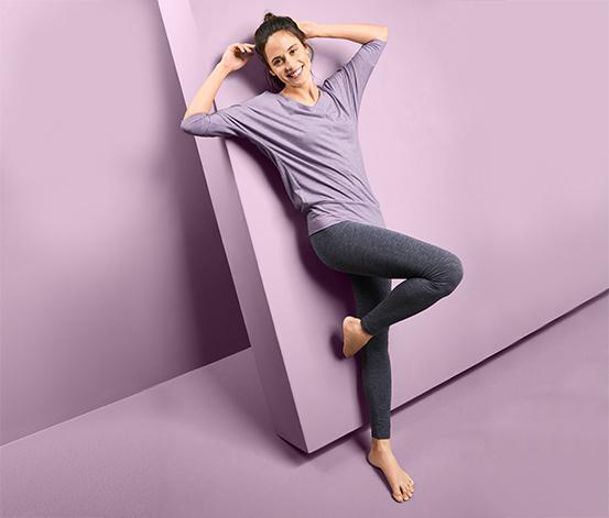3/4-Sport- und -Yogashirt