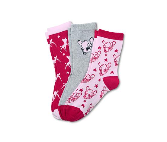 """Ponožky """"Disney"""", 3 páry"""