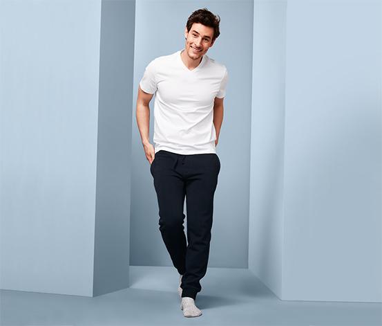 Męskie spodnie dresowe z bawełną ekologiczną