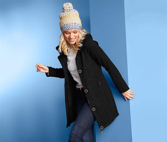 Manteau en maille polaire