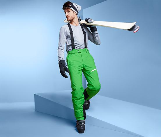 Férfi sínadrág, zöld