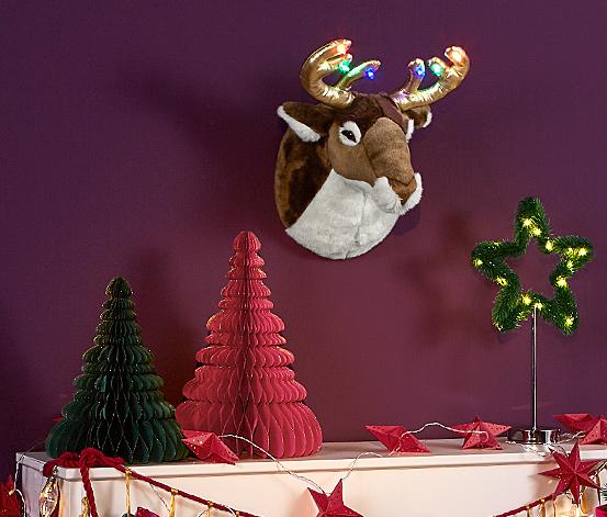 Dekoračné vianočné stromčeky, 2 ks