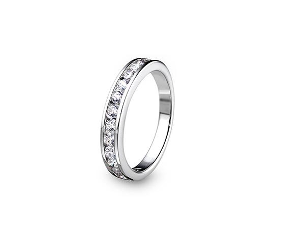 """Női ezüst gyűrű, cirkónia, """"Timeless"""""""