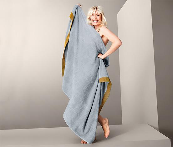Ręcznik kąpielowy XL z bawełną ekologiczną