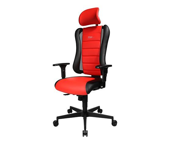 Topstar-Gamingchair »Sitness RS«, schwarz-rot