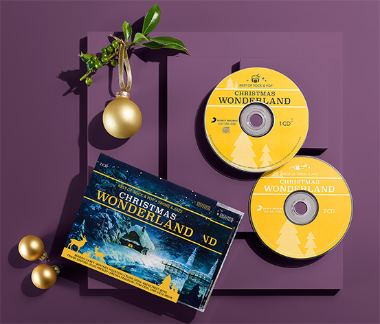 "2 CD ""Christmas Wonderland"""