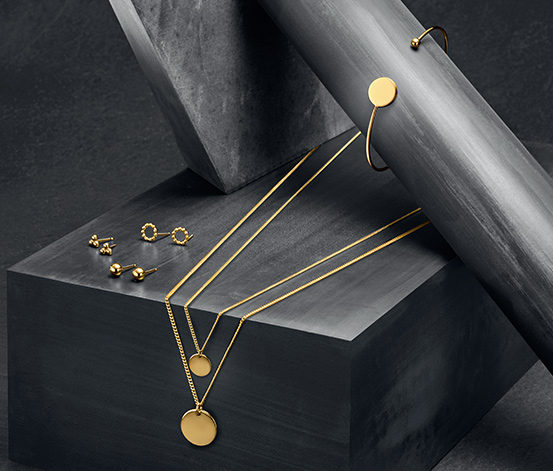 Layer-Silberkette »Pure Collection«