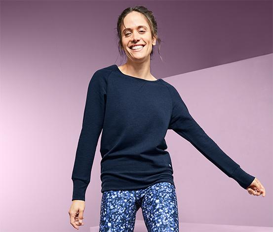 Sweatshirt avec manches chauve-souris