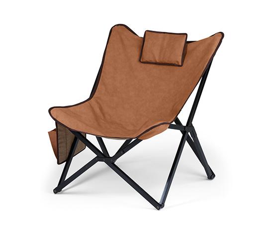 Lounge-stol, skinnimitation