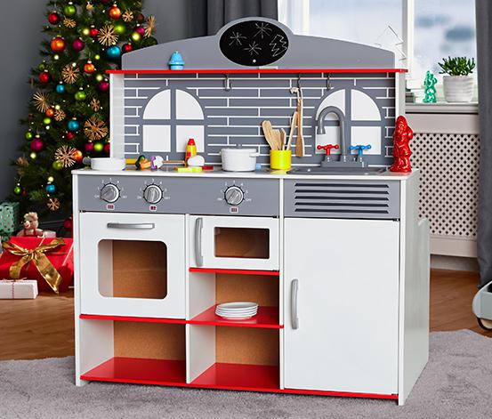 2-in-1-Restaurant-Spielküche