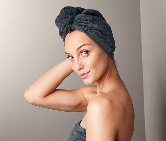 Ręcznik z turbanem