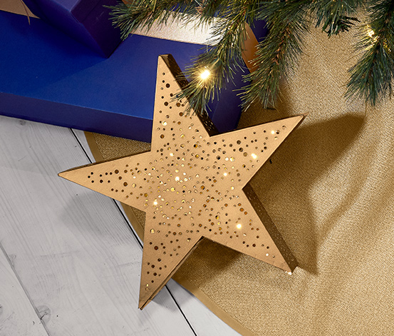 Hviezda s LED