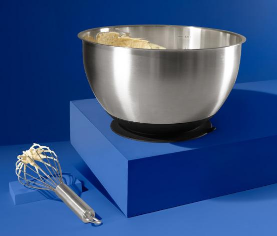 Edelstahl-Zubereitungsschüssel