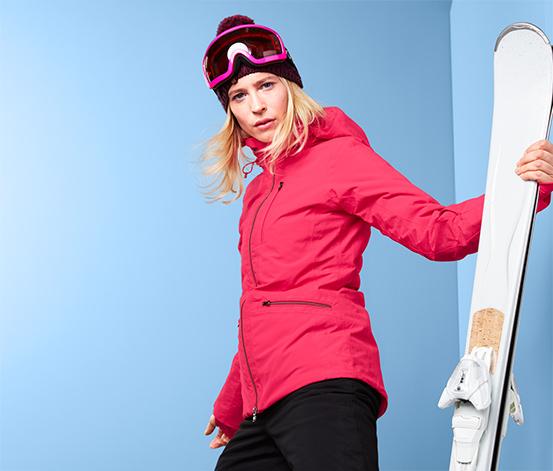 Veste de ski en softshell
