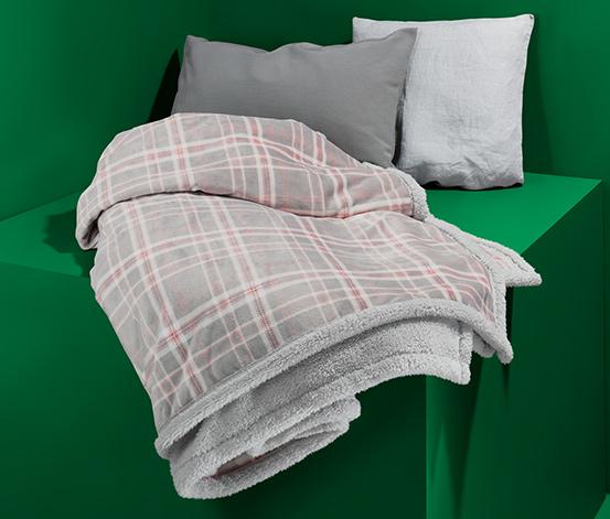 Obojstranná mäkučká deka