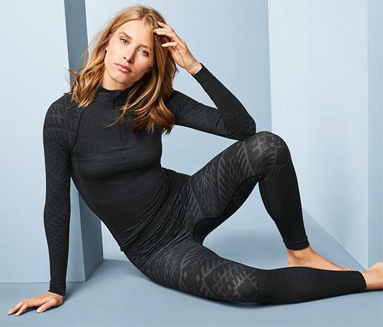 T-shirt fonctionnel à manches longues avec de la laine mérinos