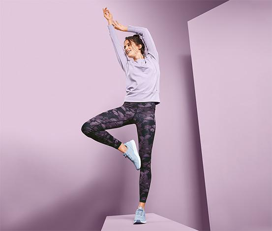 Dwustronne damskie legginsy sportowe